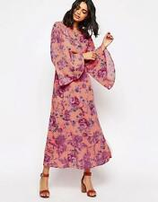 People Melrose Bell Sleeve Clementine Maxi Dress 0