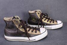 CB560 Converse All Star Classic Chucks Hi Sneaker Gr. 37,5 Leder Leather braun
