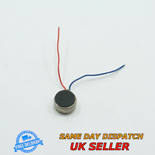 3V DC Flat Vibration Micro Motor Moblile Phone 8mmx3.4mm Vibrating Coin Cell
