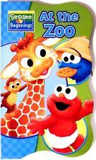 New Sesame Street Beginnings BOARD BOOKS Baby Big Bird Cookie ELMO~ At the ZOO