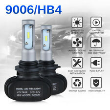 9006 HB4 LED Headlight Bulbs Conversion Kit Car Fog Light High Low Beam 8000LM