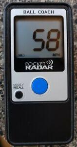 Pocket Radar PR1000-BC Ball Coach Pro-Level Speed Training Tool - used 3 times.
