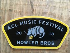 Howler Bros ACL Music Festival sticker
