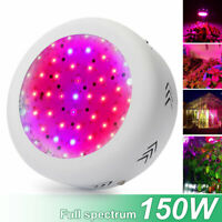 150W UFO LED Grow Light IR UV Full Spectrum Hydroponic Hydro Plant Growing Lamps