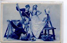 (Ga8788-477) Delft Children in Traditional Dress, Holland 1907 VG