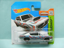 Hot Wheels - '68 PLYMOUTH BARRACUDA HEMI CUDA 1968 - 2015 HW Workshop short 1/64