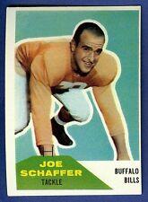 1960 Fleer Football Joe Schaffer #105 (Rookie) Buffalo Bills Ex-Mt/Nr-Mt