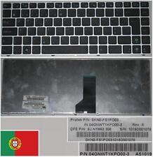 Clavier Qwerty PO Portugais ASUS UL30 UL30VT 9J.N1M82.30  0KN0-FS1PO03 Noir