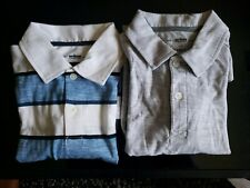 Lot of 2 Nwot Boys Medium 10 / 12 Polo Shirt Urban Pipeline