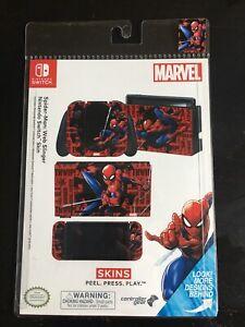 Controller Gear Nintendo Switch Skin: Marvel Spider Man Web Slinger