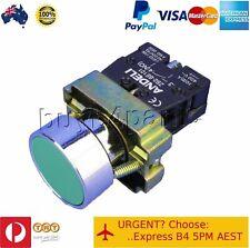 10x XB2-BA31 Push Button Switch Green Flush Normally Open N/O 240V AC Mains 22mm