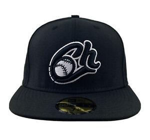New Era Charros de Jalisco 59FIFTY fitted hat cap Mexican Pacific League black