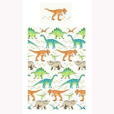 dinosaures monde Set Housse de couette simple NEUF T-Rex literie