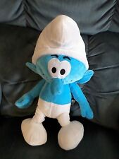 Clumsy Smurf plush 2011 The Smurfs 19""