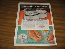 1959 Print Ad Du Pont Stren Fishing Line Outperforms