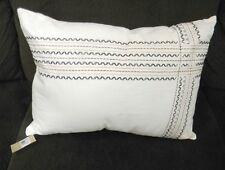 New Ellen ED Degeneres Mombasa Decorative Bedding Throw Ivory Pillow 15 x 20