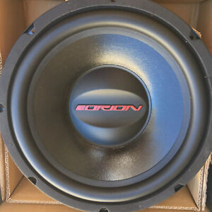 Orion 12 Inch High Performance Subwoofer C12D4