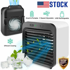 Summer Mini Portable Air Conditioner Cooler Cooling Usb Fan Humidifier Purifier
