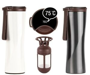 2 in 1 Smart Cup Thermos Touch Stainless 42℃ for 6 hrs 42℃ for 6 hrs/ Below 10℃