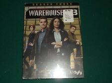 WAREHOUSE 13 THE COMPLETE SEASON THREE SEALED MYSTERY LOVES COMPANY SYFY