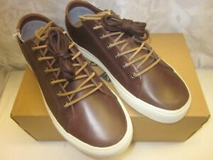 NEW MENS SPERRY TOPSIDER LEATHER STRIPER PLUSHWAVE LTT BROWN SIZE 12 M STS22188