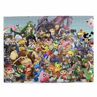 Super Smash Anime DIY 300/500/1000 Piece Wood Jigsaw Puzzle for Adults Kids Game