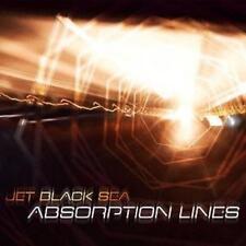 JET BLACK SEA - Absorption Lines DIGIPAK CD - JUNE 2017 NINE STONES CLOSE