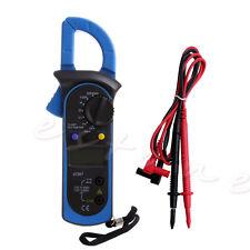 Clamp Digital Multimeter OHM Amp Meter AC/DC Current Voltage Resistance Tester