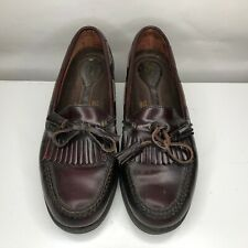 Rockport Mens Size 10M  Tassel Loafers Dress Shoes Cordovan