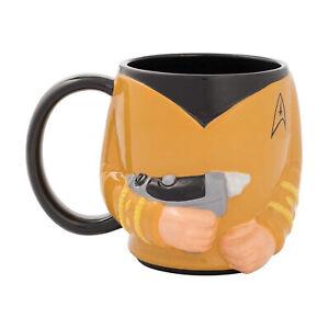 Bioworld Star Trek Captain Kirk 18oz Mug NEW IN STOCK
