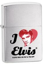 Zippo 28258 i love elvis presley brushed chrome Lighter