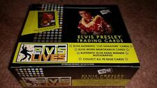2006 ELVIS PRESLEY PRESS PASS ELVIS LIVES TRADING CARD 24 PK.BOX-POS.ELVIS AUTOS