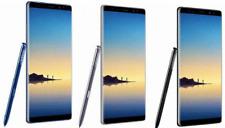 Samsung Galaxy Note 8 64GB Unlocked Orchid Gray, Midnight Black