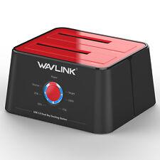 Wavlink External HardDrive Docking Station&Dual Bay,USB3.0 to SATA&Offline Clone