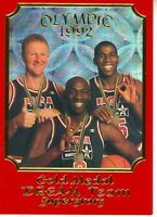 1992 OLYMPIC GOLD MEDAL DREAM TEAM Jordan/Bird/Magic SUPERSTARS LIMITED EDITION