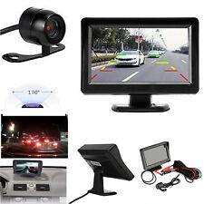 4.3'' TFT LCD Car Rear View System Backup Monitor + Parking Camera Night Vision
