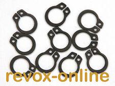 Seegerringe, Sicherungsringe für Revox A77, A700, B77, PR99, C270-C278, 10 Stück