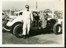 HOFFMAN #116-MODIFIED-AUTO RACING-1961 PHOTO