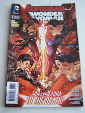 DC COMICS PROUDLY , SUPERMAN WONDER WOMAN , IN ENGLISH N° 6 DE 2014 .