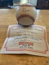 Greg Maddux autographed baseball with COA