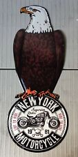 Blechschild / NY Motorcycle / Dekoschild / Harley / Indian /  Adler 60 x 25cm