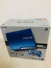 PlayStation 3 PS3 Console System 320GB Splash Blue game Sony CECH-3000BSB