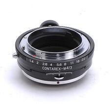 Contarex Lens PC Adaptateur pour m4/3 Olympus e-p1 e-p2 e-pl1 Panasonic gh2 gf2 gf3