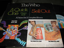 The Who A Quick One (Happy Jack)/ Sell Out MCA 2 LP w/lyric insert mod mca24067