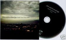 SHE WANTS REVENGE Must Be The One US 1-trk promo CD