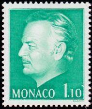 "MONACO N° 1209 ""EFFIGIE DU PRINCE, 1 F 10 VERT JAUNE""NEUF xxTTB"