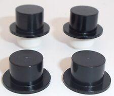 LEGO Black Top Cappelli X 4 per Minifigures