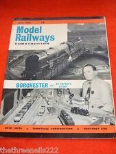 MODEL RAILWAYS CONSTRUCTOR - JULY 1959 - BORCHESTER