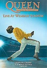 QUEEN - LIVE AT WEMBLEY - 2 X DVD REGION 2 SET - BOHEMIAN RHAPSODY / RADIO GA GA