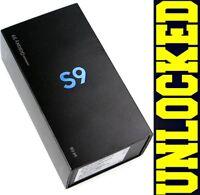 Samsung Galaxy S9 SM-G960U1 64GB MIDNIGHT BLACK (FACTORY UNLOCKED)  *OTHER*